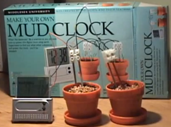 Mud Clock electronics project