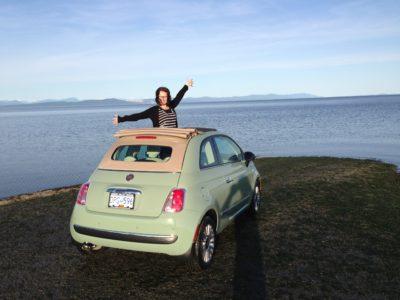 Fiat on the Beach