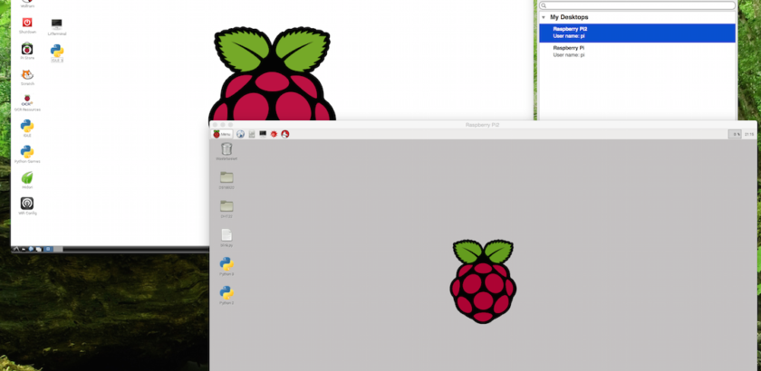 Connecting to a Remote Desktop on the Raspberry Pi – Bring In The